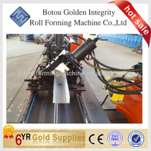 Customized c stud roll forming machine with hydraulic punching holes