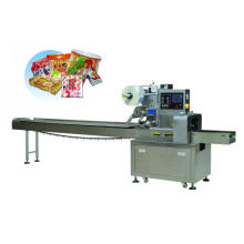Flow packing machine for mask