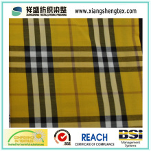 Garn gefärbte Seide und Baumwolle Check