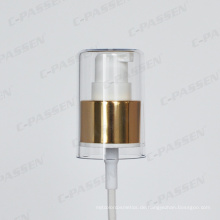 Aluminium-Kunststoff-Kosmetik-Creme-Pumpe für kosmetische Flasche