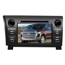 Ajuste de 2DIN coches reproductor de DVD para Toyota Tundra Sequoia con Radio Bluetooth TV estéreo sistema de navegación GPS