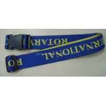 Cordão tecido personalizado com logotipo jacquard