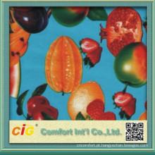 Desenhos de fruta nova toalha de mesa de PVC Material fresco de 100%