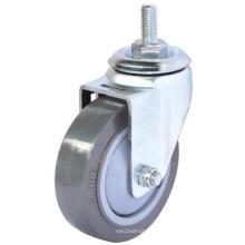 Threaded Stem PU Caster (Gray)(Flat Surface) (3304368)