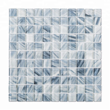 Blue Crystal Glass Mosaic Tile Swimming Pool Tiles for Sale