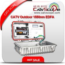 Fournisseur professionnel CATV 1550nm Amplificateur à double amplificateur optique à l'extérieur EDFA EDFA