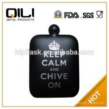 304 18/8 días por la FDA y LFGB alta calidad padre cuadrado regalo frasco de la cadera para hombres