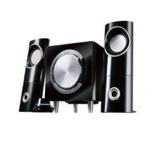 haut-parleurs 2.1 chaude et classique avec commande à fils