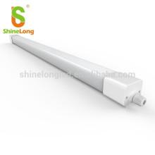100lm/w 40w 4ft IP65 tri-proof light led ceiling fixture