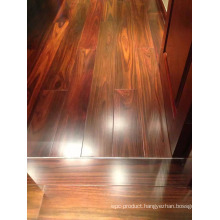 Wide Plank with Beautiful Grain Solid Indonesia Rosewood Flooring