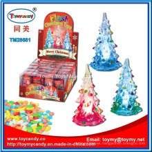 Light Christmas Tree Toy with Candy