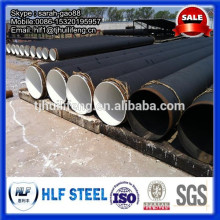 bitumen paint SSAW steel pipe