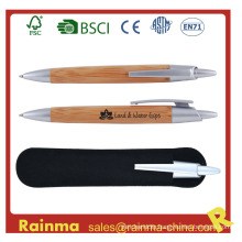High Quality Bamboo Ball Pen for Promotional Gift