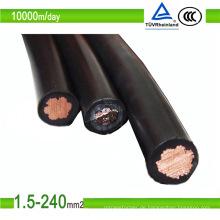 1/2 Kern Photovoltaik Solarkabel PV1-F PV Kabel 4/6 / 8mm2