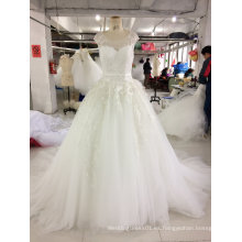 Vestido de boda de princesa de alta calidad vestido de bola