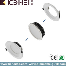 أسود 5 بوصة LED Downlights 4000K CE بنفايات