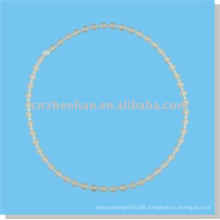 roller blinds components-7*11mm Clear endless plastic roller blind ball chain
