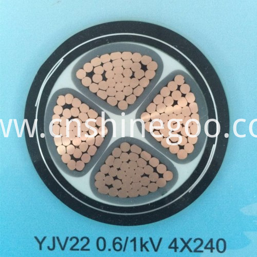 0.6/1kV XLPE Insulated Cable