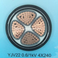 0.6/1kV Insulated armoured power cable
