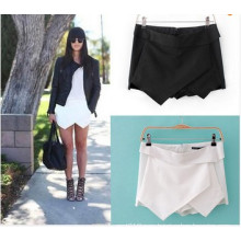 Hot Women Sexy Shorts Wrap Mini Skirts Culottes Pants (SR8235)