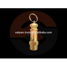 Brass Safety Valve with rubber seal - 1/2