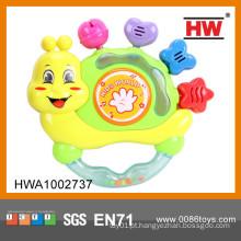 Hot Sale B / O brinquedo sino chocalho com música fazem instrumento musical criança