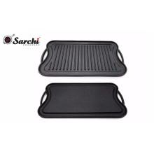 Stove-top Griddle,Cast Iron Griddle Pan,50.5*26cm