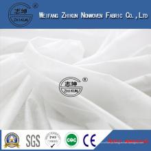 Ar quente através do material não tecido hidrófilo da fileira da tela para o tecido