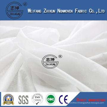Air chaud par le matériel non tissé hydrophile de rangée de tissu pour la couche-culotte