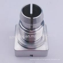 Pieza de mecanizado CNC para eje de soporte