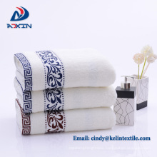 Hotel terry towel with embroidery logo