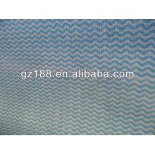 Tela de Rayon Spunlace de Apertured, tela permeável não tecida