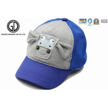 Cotton Cute Baby Kids Baseball Sports Cap with 3D Embroidery
