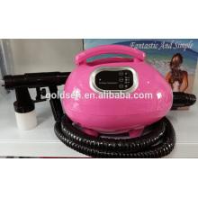 Home Mini máquina de bronzeamento da cama sistema de máquina Handheld HVLP Spray Bronzeira Gun Profissional portátil Indoor Body Tanning Solution