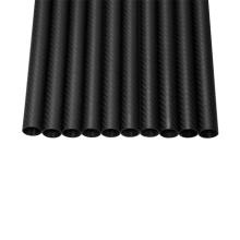 Tubos de tubos de fibra de carbono 3K con precio de fábrica