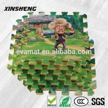 EVA espumado tapete de almofada de pvc para crianças