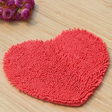 Heart Shaped Door Mat Shower Mats