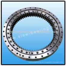 Engranaje interno rueda de una sola fila de cuatro puntos de giro de bolas de contacto