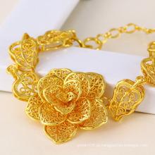 Xuping Jóias de Moda Pulseira de Ouro 24k (71328)