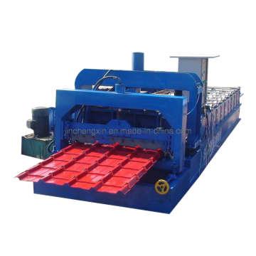 Flach- und Ziegeldachformmaschine