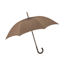 Manual Open Brown High Quality Straight Umbrella (BD-51)