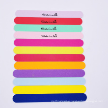 Disposable  No Electric double side wooden nail file