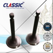CLASSIC CHINA 170f Válvula del motor, generadores portátiles de retención de la válvula de escape, 170f Válvula del motor