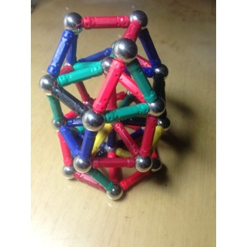 Educational Magnetic Toy Magnetic balls and bar