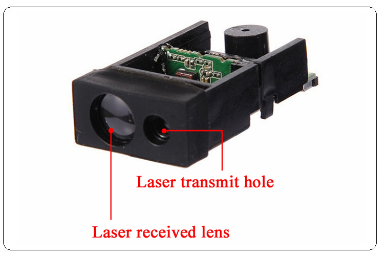 60m Bluetooth Distance Measurement Module Lens