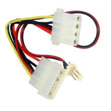 Molex IDE HDD Drive macho para cabo de extensão fêmea (003)