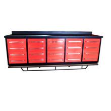 10ft metal 20 drawers workbench as workshop tool storage cabinet