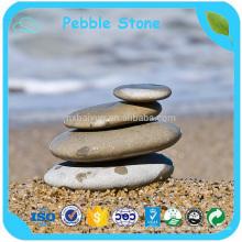 Pedra natural do seixo do rio azul