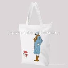Sac en tissu de coton pur sac à cordon sac de rangement pour bébé / 2013 Sac de cordon de qualité supérieure dans l'impression