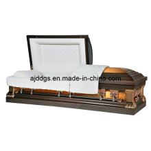 Style américain de cuivre cercueil (11018112)